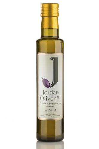 Jordan Olivenöl - Flasche 0,25 l