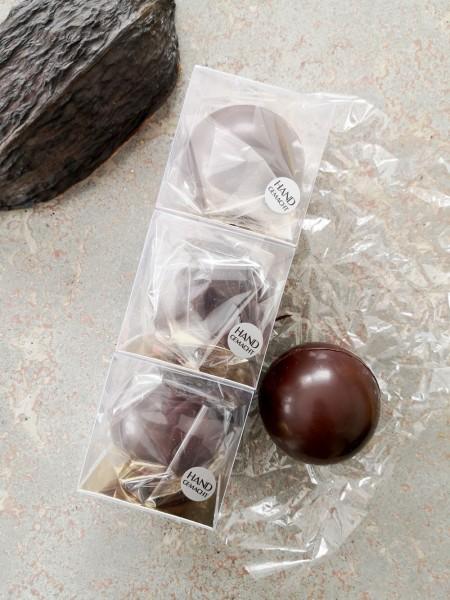 Dunkle Ursprungs-Trinkschokolade 68%