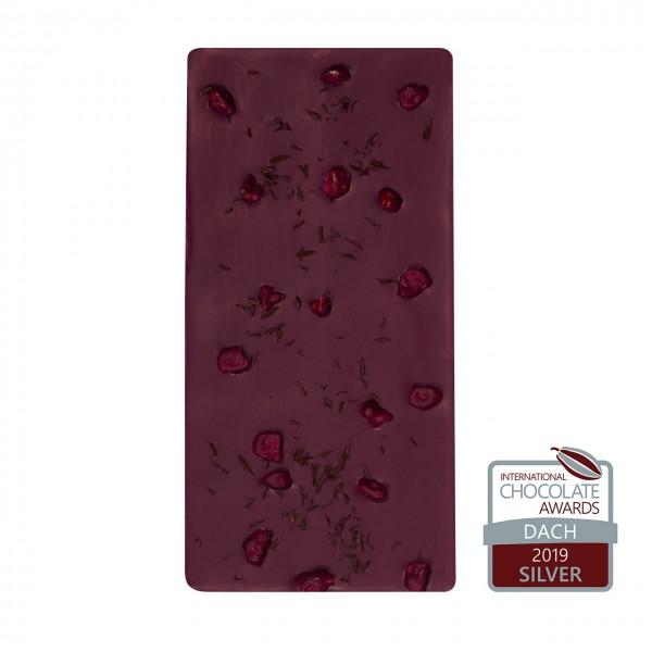 Chokumi Tafelschokolade Rote Beete-Himbeere